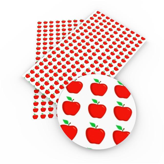 12x54 Apples Printed Vinyl
