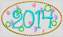 2014 Party Cover Embroidery File