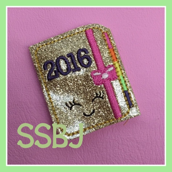 SSBJ 2016 Planner Embroidery File