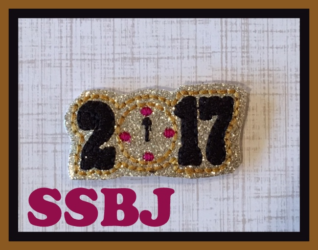 SSBJ Its Midnight 2017 Embroidery File