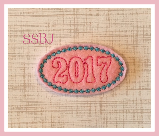SSBJ 2017 Star Cover Embroidery File