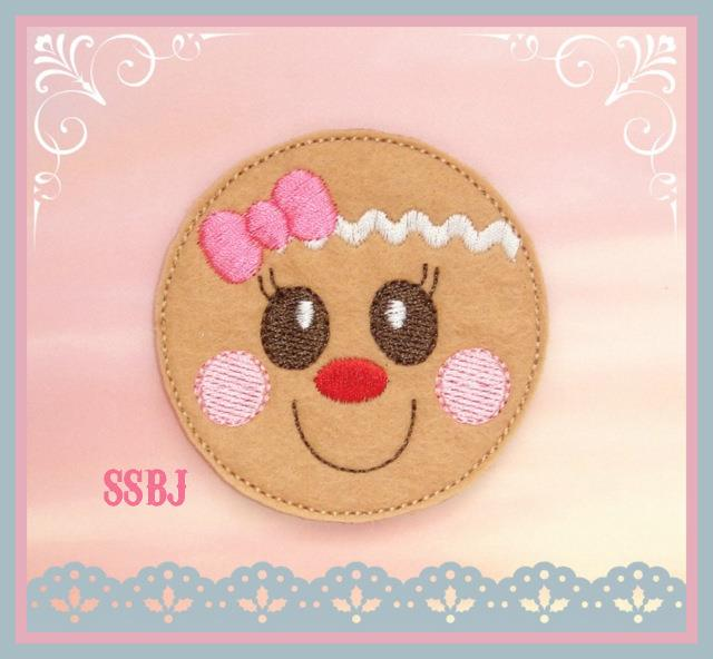 Ginger Gal Embroidery File