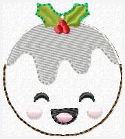Plum Pudding Embroidery File