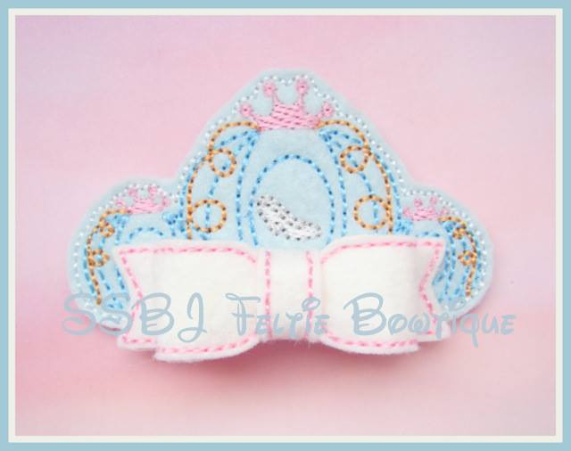 SS Princess Cinderella Tiara Pop Up Bow