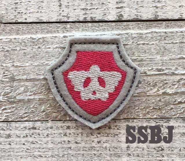 SSBJ Paw Patrol Shield Air Embroidery File