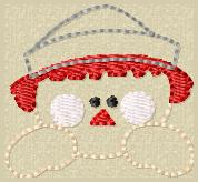 Raggy Andrew Embroidery File