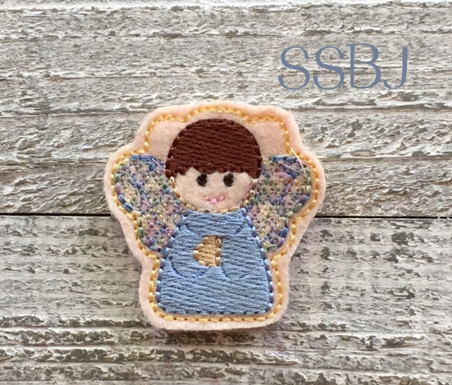 SSBJ Angel Boy Embroidery File