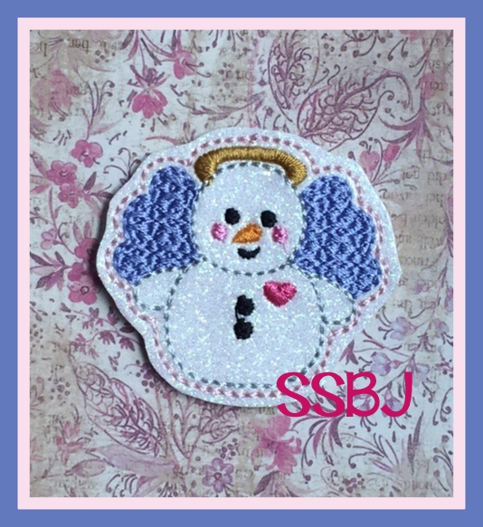 SSBJ Angelica Snowgirl Embroidery File