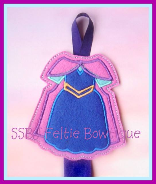 SS Anna FK Dress Embroidery File