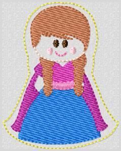 SS Princess Anna FULL Embroidery File