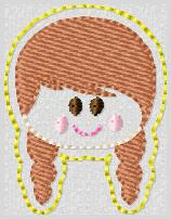SS Princess Anna FACE Embroidery File