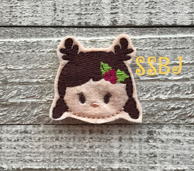 SSBJ Tum Anna Frozen Reindeer Embroidery File