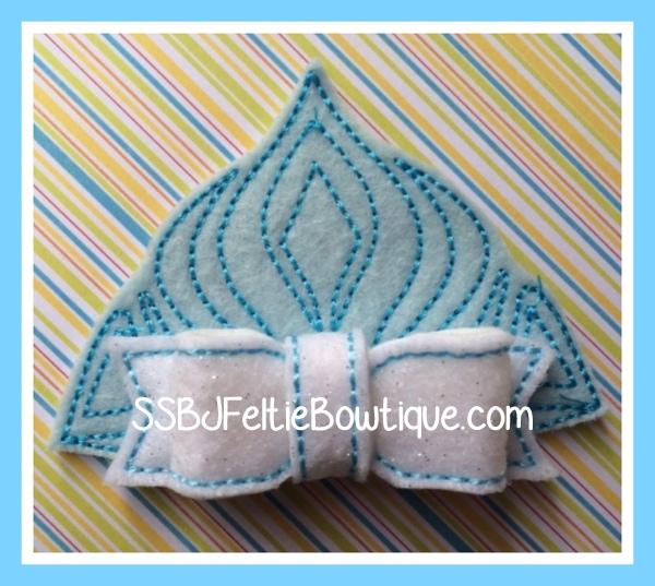 Frozen Tiara Embroidery File