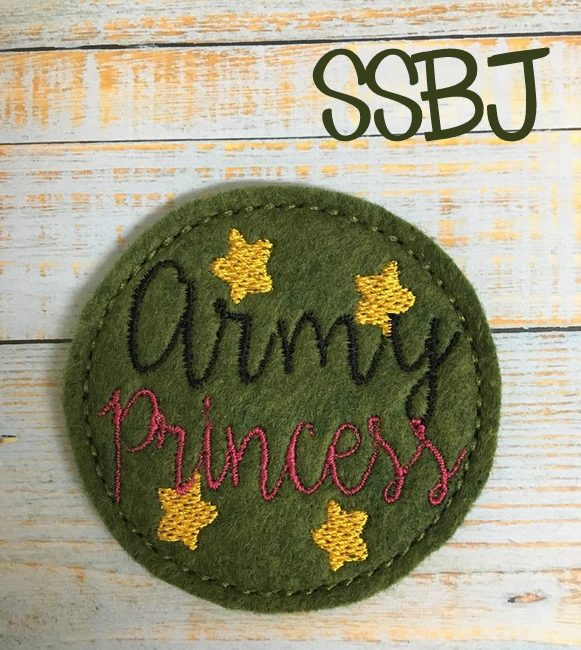 SSBJ Army Princess Embroidery File