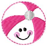Beachy Ball Embroidery File