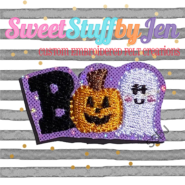 SSBJ BOO Friends Embroidery File