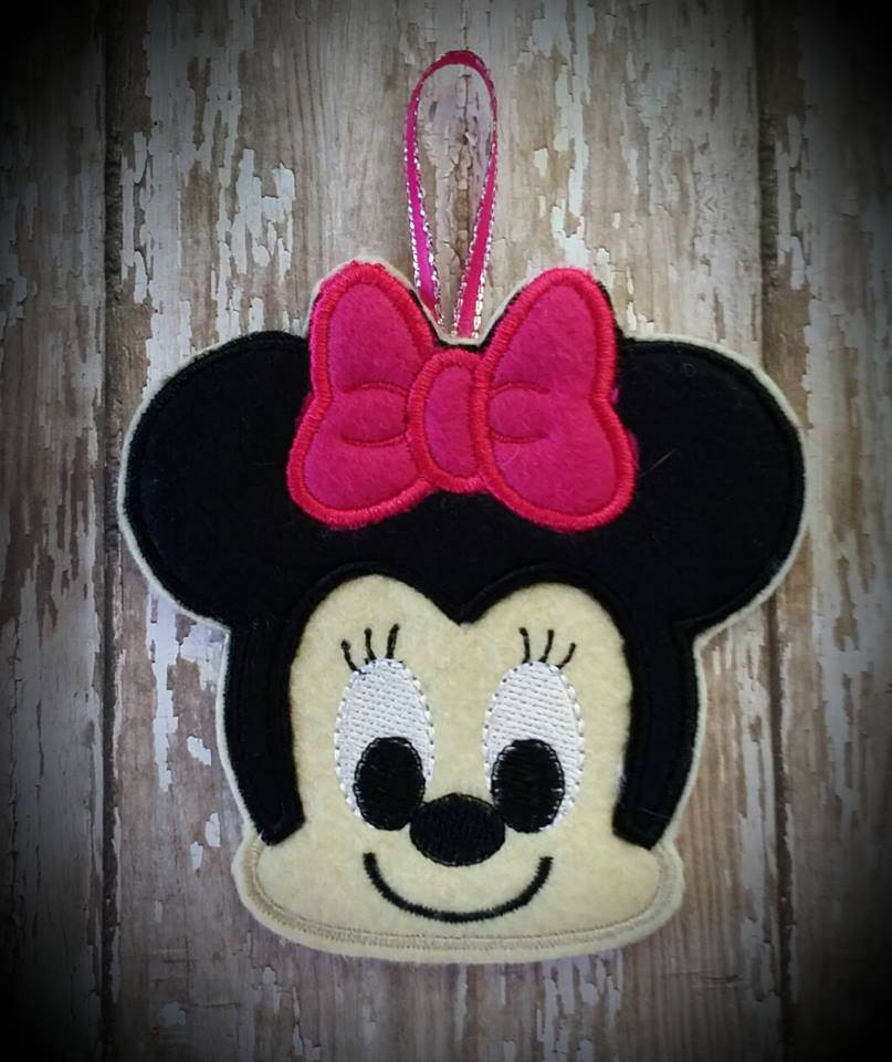 Babie Mouse Girl Embroidery File SET