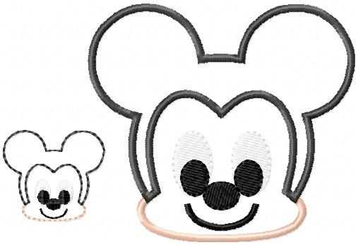 Baby Mikey Embroidery File Set