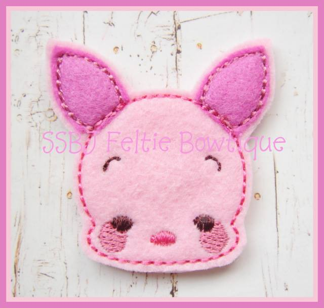 Babie Pig Embroidery File SET