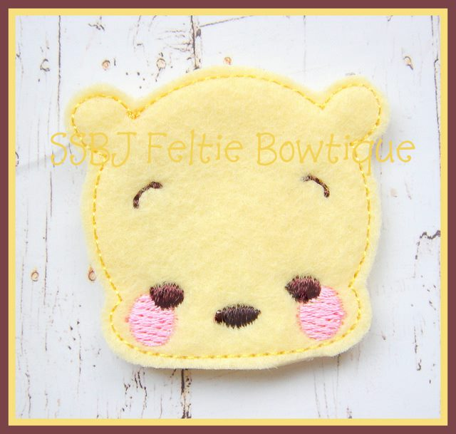 Babie Bear Embroidery File SET