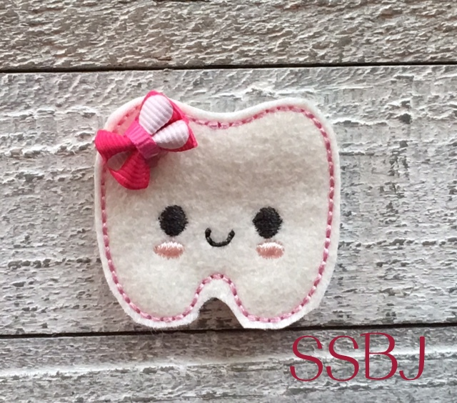SSBJ Kutie Baby Tooth Embroidery File