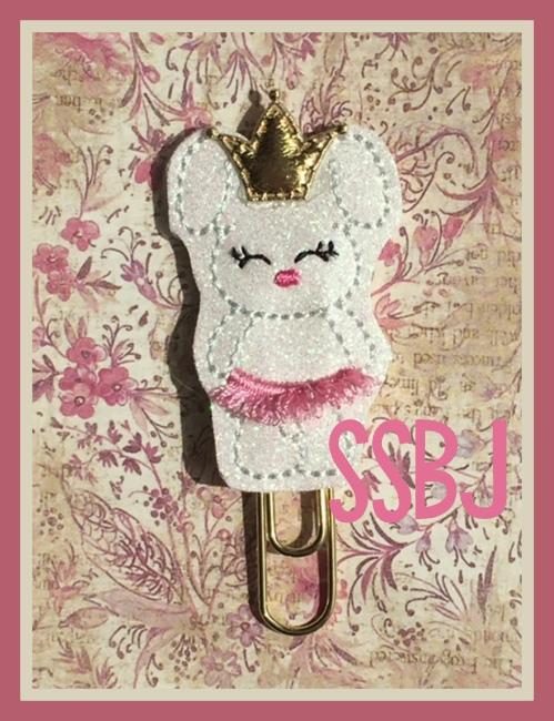 SSBJ Ballerina Bunny Embroidery File