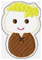 Barnie Rubs Embroidery File
