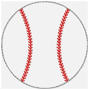 SSBJ Baseball Embroidery File