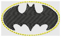 Batman Embroidery File