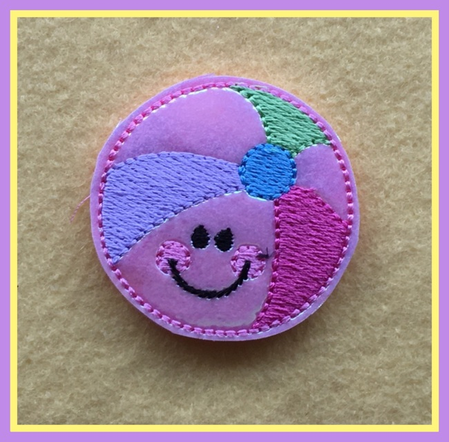 Beachy Ball 2 Embroidery file