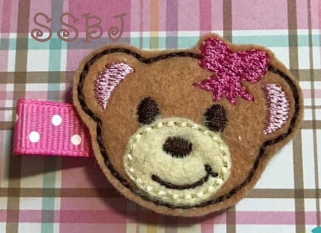 SSBJ Bearry Embroidery File