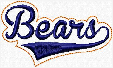 Bears Sport Band Embroidery File