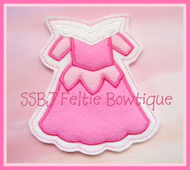 Beauty FK Dress Embroidery File