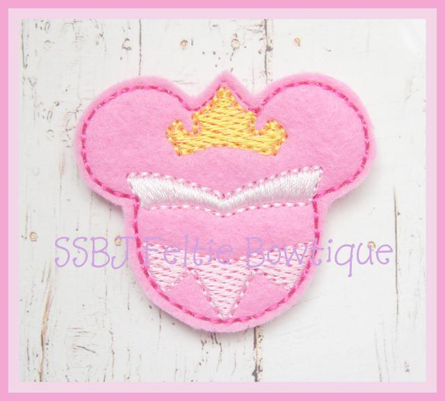 Beauty Mouse Embroidery File