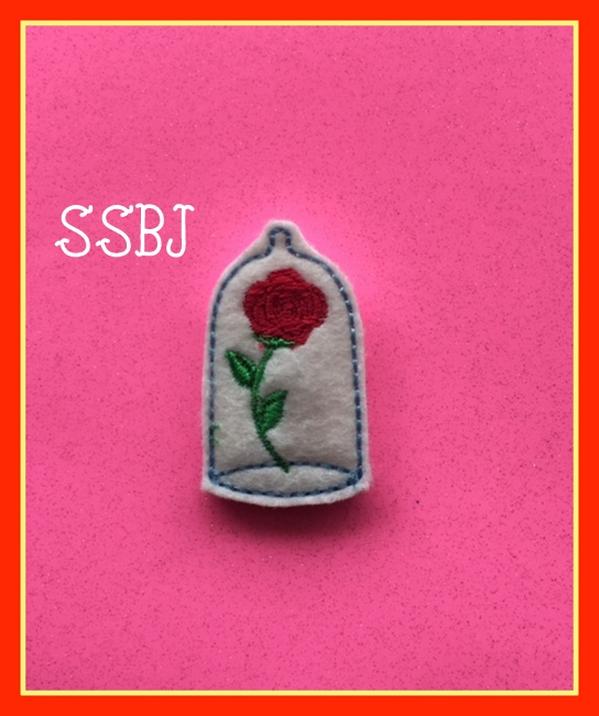 SSBJ Beauty Rose Embroidery File