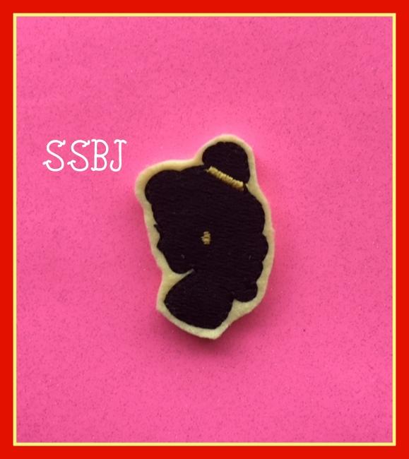 SSBJ Beauty Silouette Embroidery File