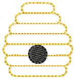 Beehive Embroidery File