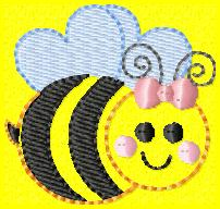 Beez Embroidery File