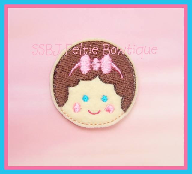 Girlie Coins Bella Embroidery File