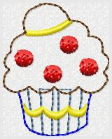 Belle Cake Embroidery File