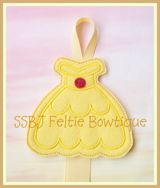 Bell FK Dress Embroidery  File