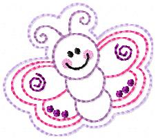 Betsy Butterfly Embroidery File