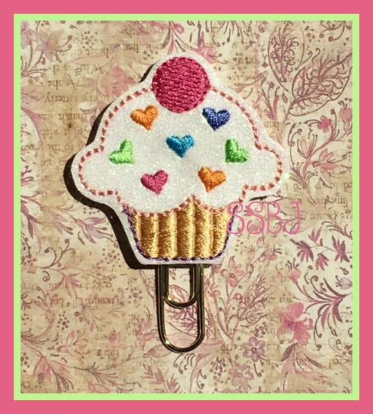 SSBJ Birthday Cupcake Embroidery File