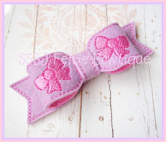 Bitty Bow Embroidery File