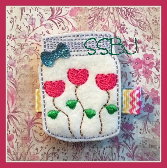 SSBJ Blooming Hearts Embroidery File