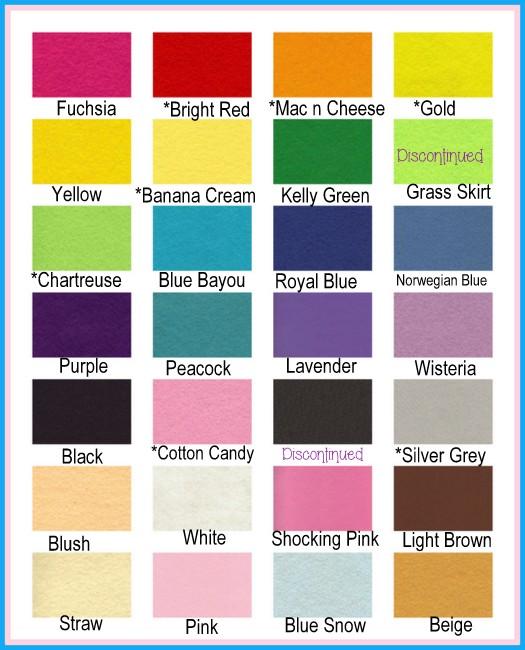 DAILY DEAL Wool Felt Sheets