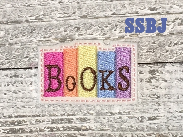 SSBJ Books Embroidery File
