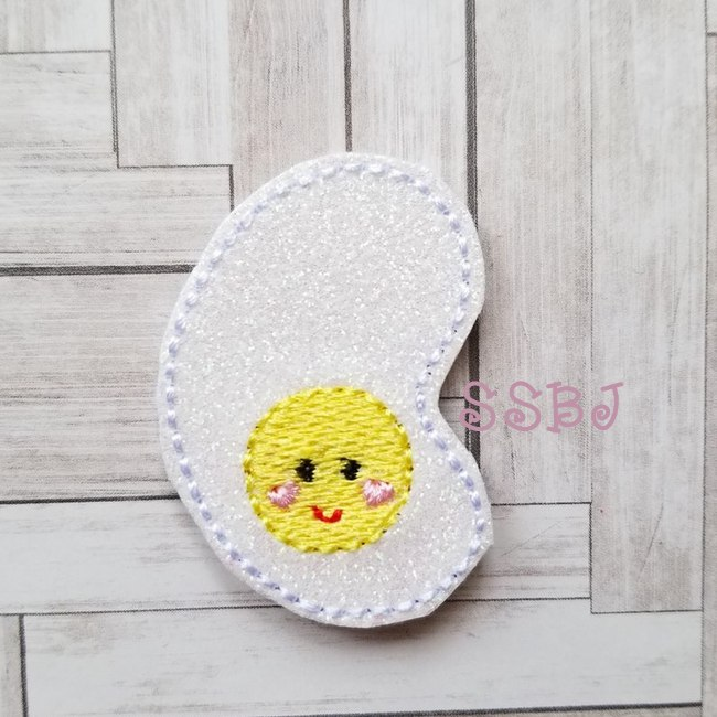 SSBJ Breakfast Cutie Egg Embroidery File
