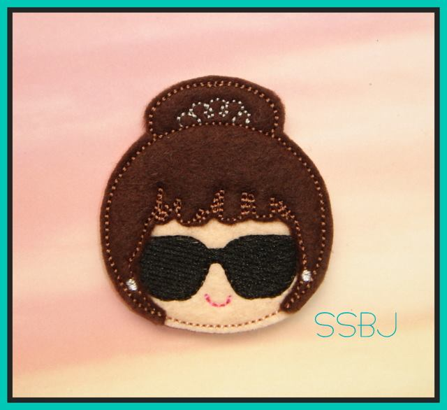 SSBJ Breakfast Chic Embroidery File TIFFANY