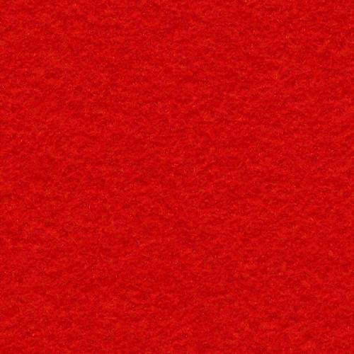 *Bright Red Wool Blend Felt